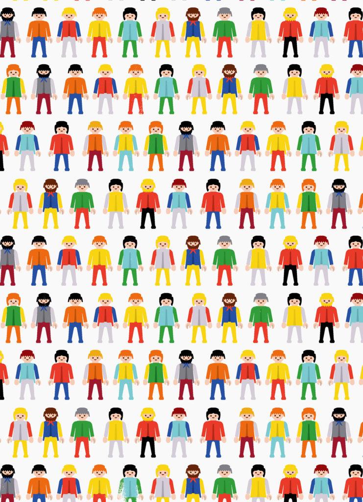 illustratie 'mensen' voor Libelle