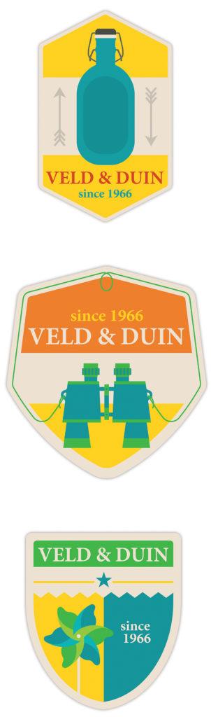 stickers en badges voor Veld&Duin