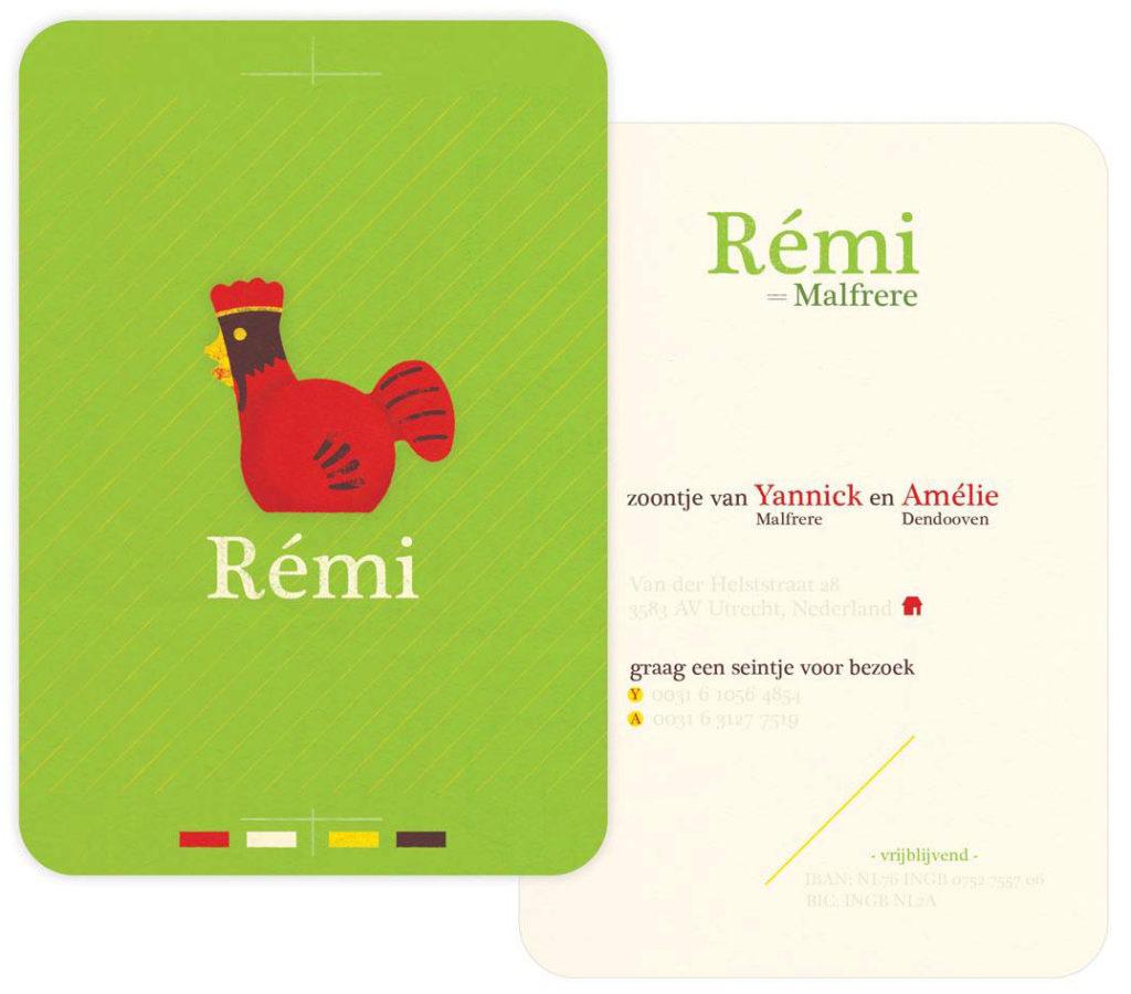 geboortekaart Rémi