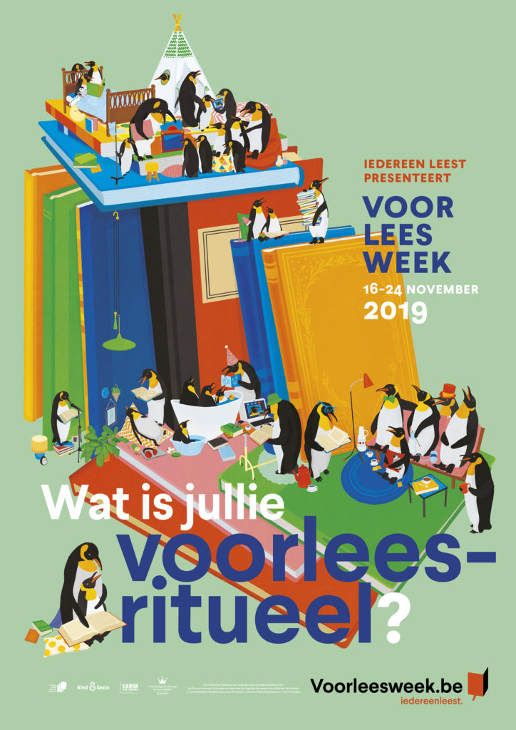affiche Voorleesweek