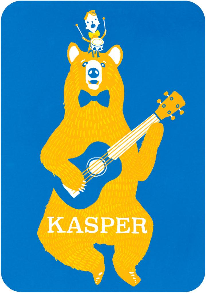 geboortekaart Kasper