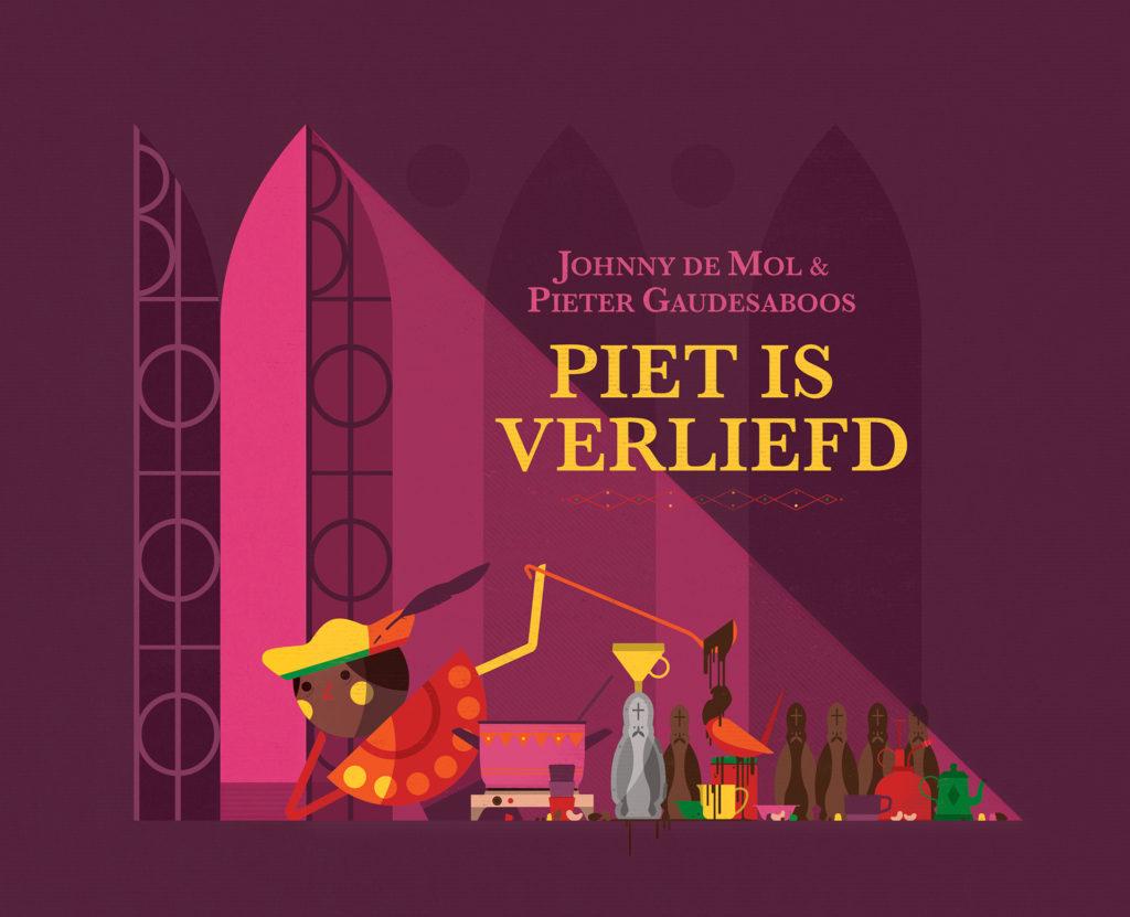 illustraties 'Piet is verliefd' voor BlueInGreen