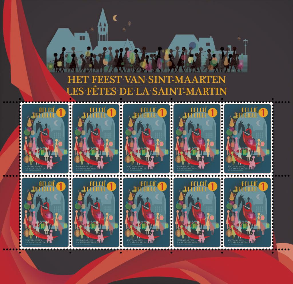 postzegel Sint-Maarten voor BPOST