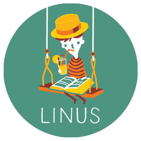 geboortekaartje Linus