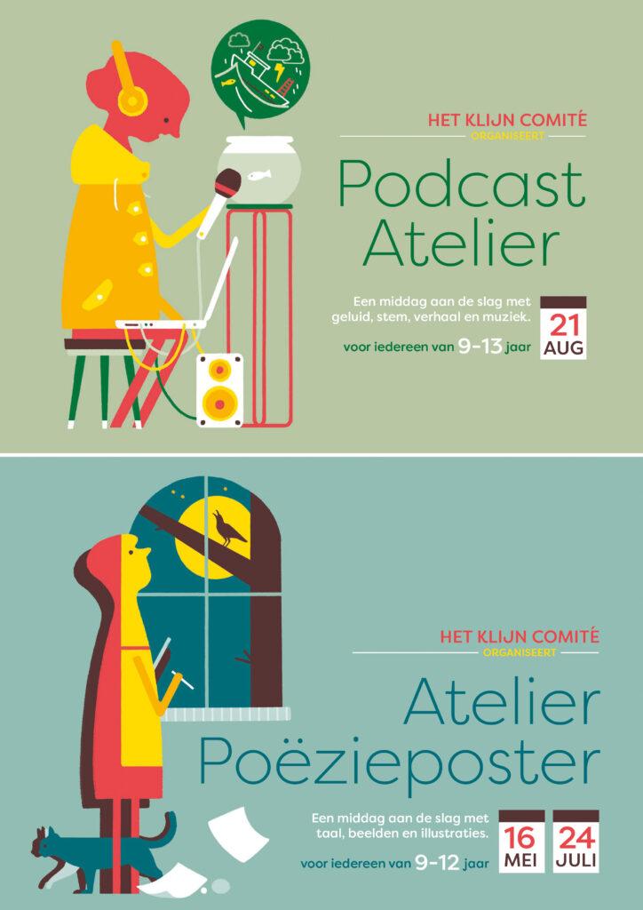 flyer Atelier Poëzieposter