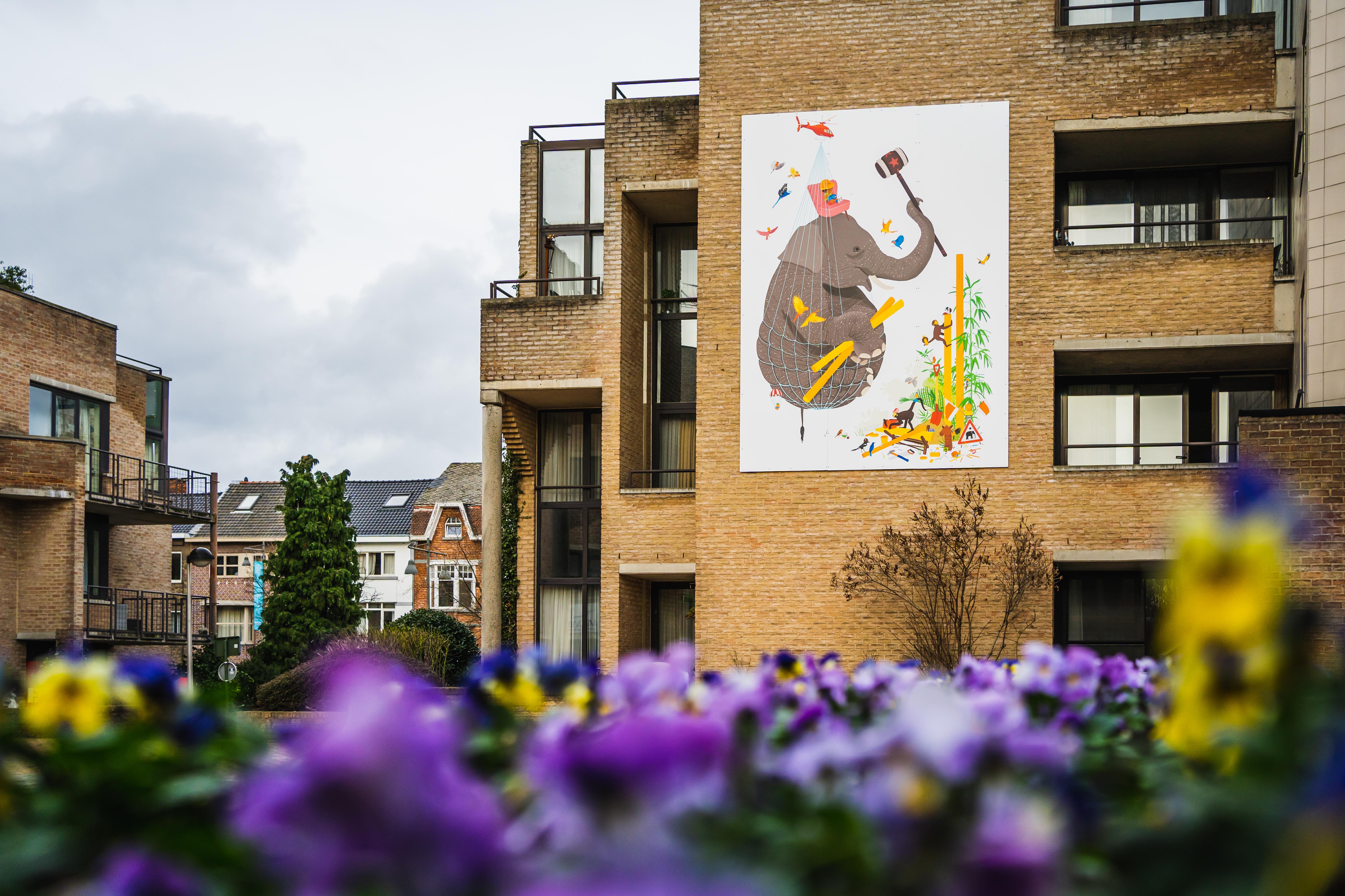 illustratieroute Hasselt - Villa Verbeelding